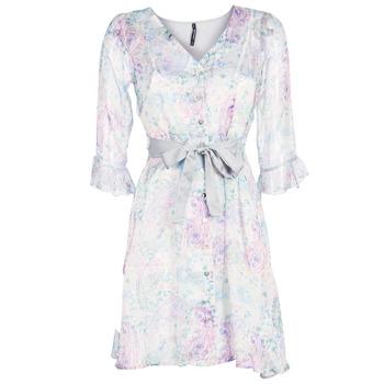tekstylia Damskie Sukienki krótkie Smash MALLORY Biały