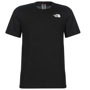 tekstylia Męskie T-shirty z krótkim rękawem The North Face MEN'S S/S REDBOX TEE Czarny