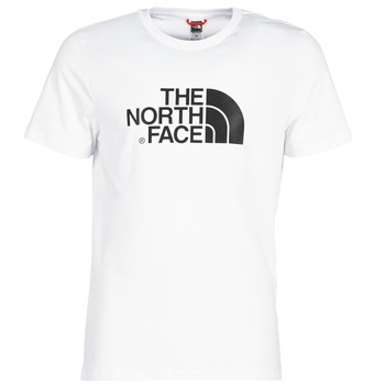 tekstylia Męskie T-shirty z krótkim rękawem The North Face MEN'S S/S EASY TEE Biały