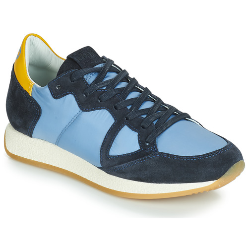 Buty Damskie Trampki niskie Philippe Model MONACO VINTAGE BASIC Niebieski / Żółty