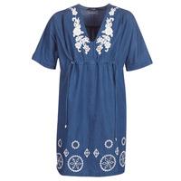 tekstylia Damskie Sukienki krótkie Desigual ELECTRA Marine