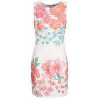 tekstylia Damskie Sukienki krótkie Desigual YAQUEL Biały