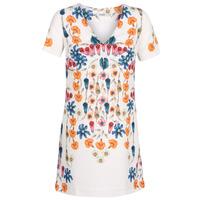 tekstylia Damskie Sukienki krótkie Desigual CORK Biały