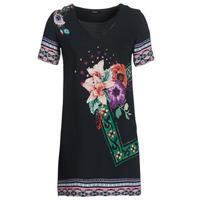 tekstylia Damskie Sukienki krótkie Desigual BARTA Czarny