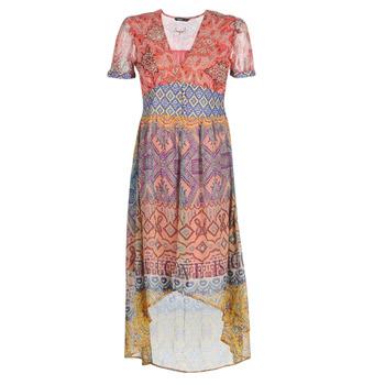 tekstylia Damskie Sukienki długie Desigual NANA Wielokolorowy