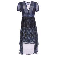tekstylia Damskie Sukienki długie Desigual MINALI Marine