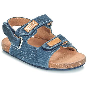 Buty Chłopiec Sandały Mod'8 KORTIS Niebieski / Jean