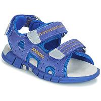 Buty Chłopiec Sandały Mod'8 TRIBATH Niebieski