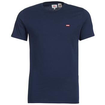 tekstylia Męskie T-shirty z krótkim rękawem Levi's SS ORIGINAL HM TEE Marine