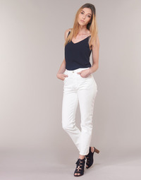 tekstylia Damskie Jeansy straight leg Levi's 501 CROP The