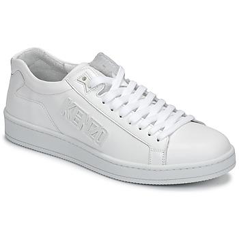 Buty Męskie Trampki niskie Kenzo TENNIX Biały