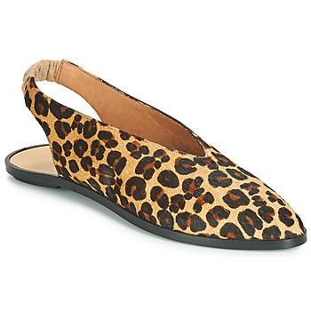 Buty Damskie Baleriny Jonak APIO Leopard