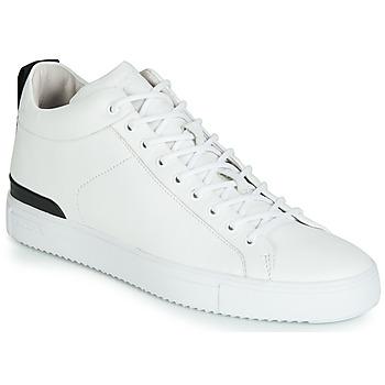 Buty Męskie Trampki niskie Blackstone RM14 Biały