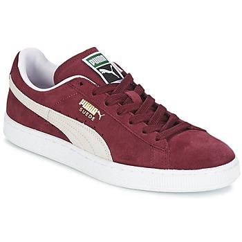 Buty Trampki niskie Puma SUEDE CLASSIC Czerwony / Biały
