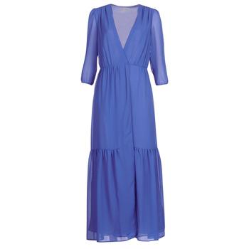 tekstylia Damskie Sukienki długie See U Soon GARAGADE Niebieski