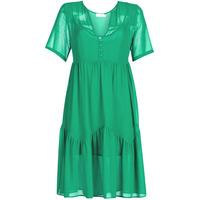 tekstylia Damskie Sukienki krótkie See U Soon GARAGACE Zielony