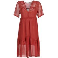 tekstylia Damskie Sukienki krótkie See U Soon GARAGACE Czerwony