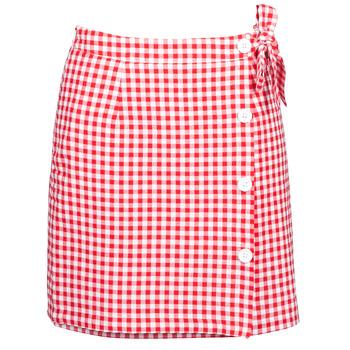 tekstylia Damskie Spódnice Betty London KRAKAV Czerwony / Biały