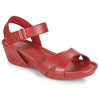 Buty Damskie Sandały Camper Micro Czerwony