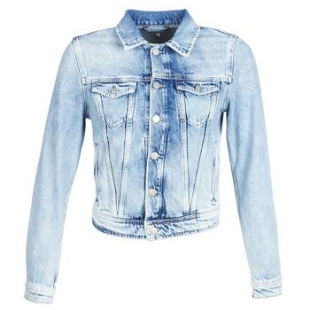 tekstylia Damskie Kurtki jeansowe Pepe jeans CORE Niebieski / Clair / Md0