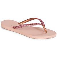 Buty Damskie Japonki Havaianas SLIM GLITTER Różowy
