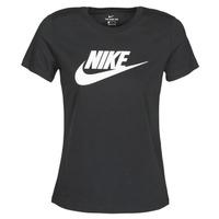 tekstylia Damskie T-shirty z krótkim rękawem Nike NIKE SPORTSWEAR Czarny
