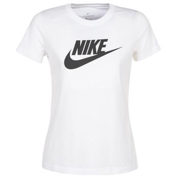 tekstylia Damskie T-shirty z krótkim rękawem Nike NIKE SPORTSWEAR Biały