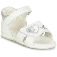 Buty Dziewczynka Sandały Citrouille et Compagnie JAFALGA Biały