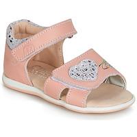 Buty Dziewczynka Sandały Citrouille et Compagnie JAFALGA Różowy