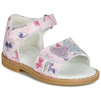 Buty Dziewczynka Sandały Citrouille et Compagnie JARILOUTE Różowy