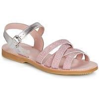Buty Dziewczynka Sandały Citrouille et Compagnie JARDINA Różowy