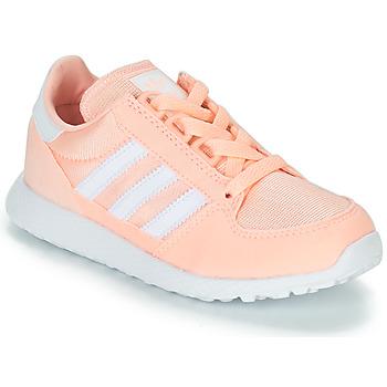 Buty Dziewczynka Trampki niskie adidas Originals OREGON Różowy