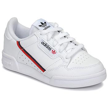 Buty Dziecko Trampki niskie adidas Originals CONTINENTAL 80 C Biały