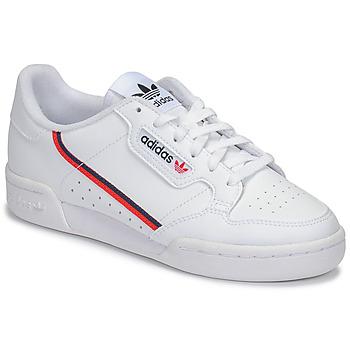 promo code 1618f 45920 Buty Dziecko Trampki niskie adidas Originals CONTINENTAL 80 J Biały