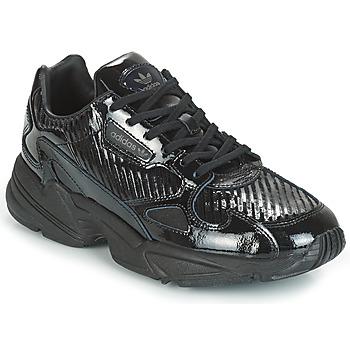 Buty Damskie Trampki niskie adidas Originals FALCON W Czarny / Glitter