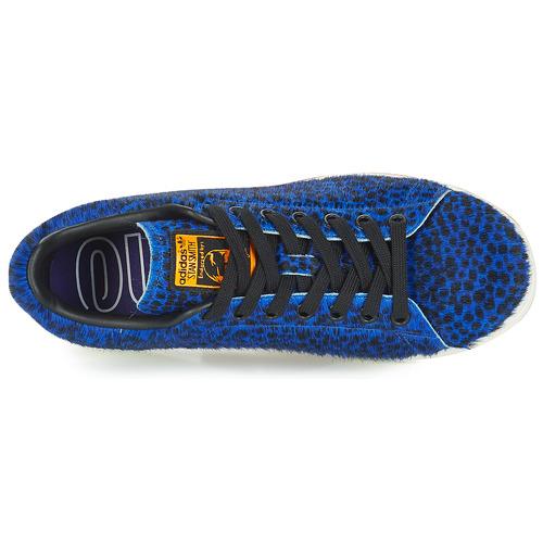 Adidas Originals Stan Smith W Niebieski / Czarny - Bezpłatna Dostawa- Buty Trampki Niskie Damskie 31740 Najniższa Cena