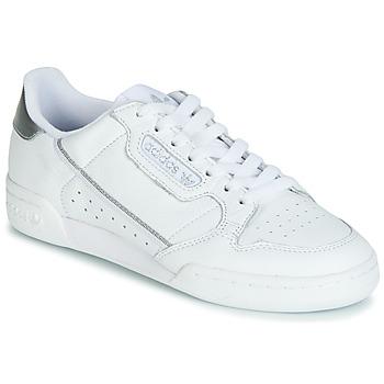 Buty Damskie Trampki niskie adidas Originals CONTINENTAL 80s Biały / Srebrny