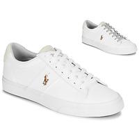 Buty Męskie Trampki niskie Polo Ralph Lauren SAYER Biały