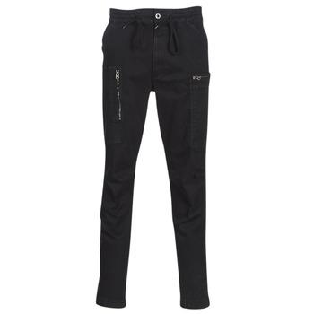 tekstylia Męskie Spodnie z pięcioma kieszeniami G-Star Raw POWEL SLIM TRAINER Marine