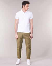 tekstylia Męskie Chinos G-Star Raw BRONSON STRAIGHT TAPERED CHINO Beżowy