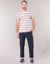 tekstylia Męskie Chinos G-Star Raw BRONSON STRAIGHT TAPERED CHINO Marine