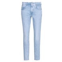 tekstylia Damskie Jeansy straight leg G-Star Raw RADAR MID BOYFRIEND TAPERED Niebieski / Light
