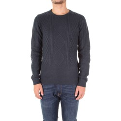 tekstylia Męskie Swetry Fred Mello FM17W54MG Niebieski