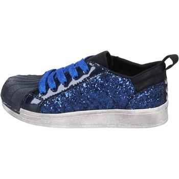 Buty Dziewczynka Trampki niskie Holalà BT330 Niebieski
