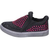Buty Dziewczynka Tenisówki Lulu BT332 Czarny