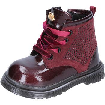 Buty Dziewczynka Kozaki Lulu BT356 Fioletowy