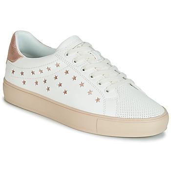 Buty Damskie Trampki niskie Esprit Colette Star LU Biały / Różowy / Gold