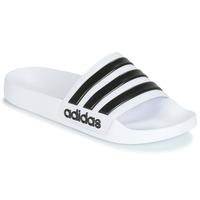 Buty klapki adidas Originals ADILETTE SHOWER Biały / Czarny