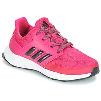 Buty Dziewczynka Bieganie / trail adidas Performance RAPIDARUN K Różowy