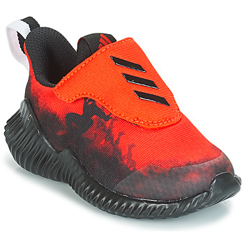 Buty Chłopiec Bieganie / trail adidas Performance FORTARUN SPIDER-MAN Czerwony / Czarny